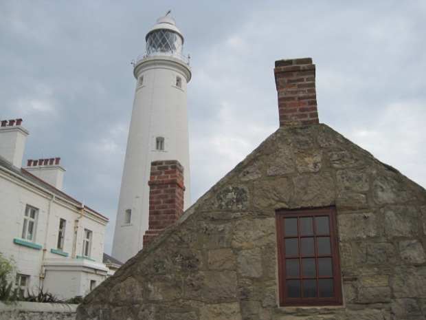 But it's a good-looking lighthouse