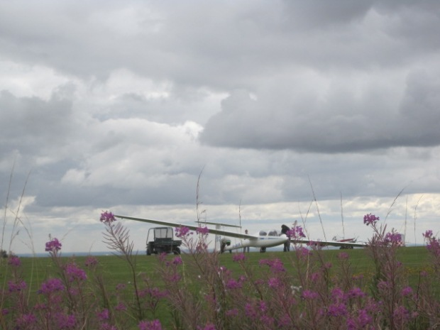 And there was a glider at the ready