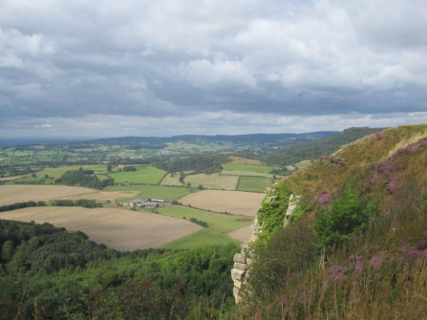 But at least I'd had a glimpse of 'England's finest view'