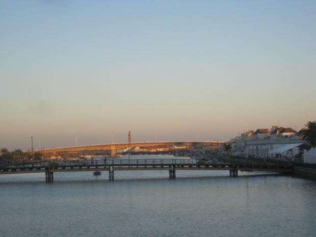 And its companion, the Military Bridge