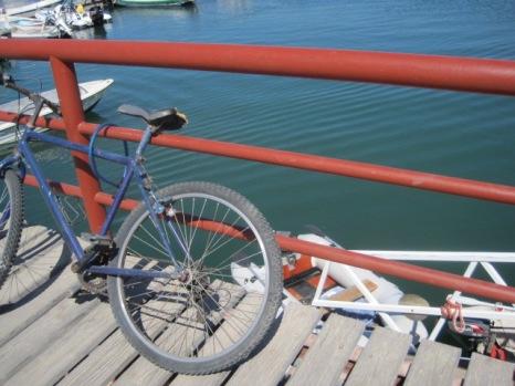 And the odd bike