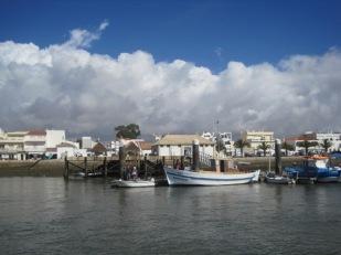 Past the fishing fleet