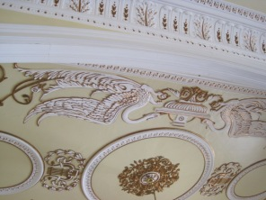And that wonderful ceiling detail, again