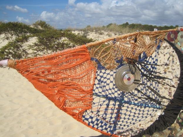 Keeping an eye on the beach?