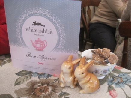 At the White Rabbit Teahouse