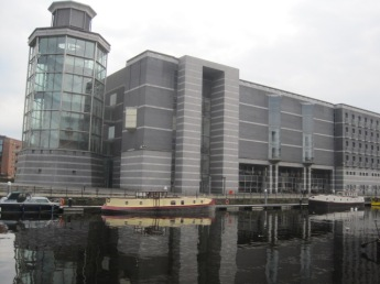 Looking across to the Royal Armouries