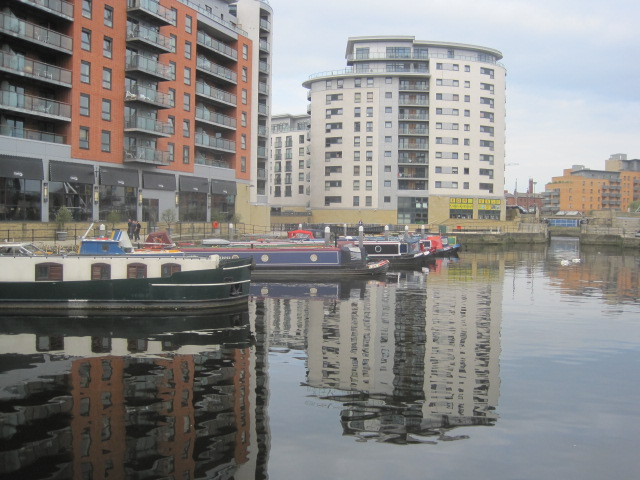 Time to leave Clarence Dock