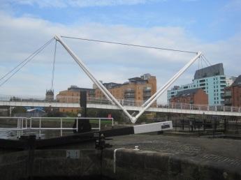 And head past the lock to Knight's Way Bridge
