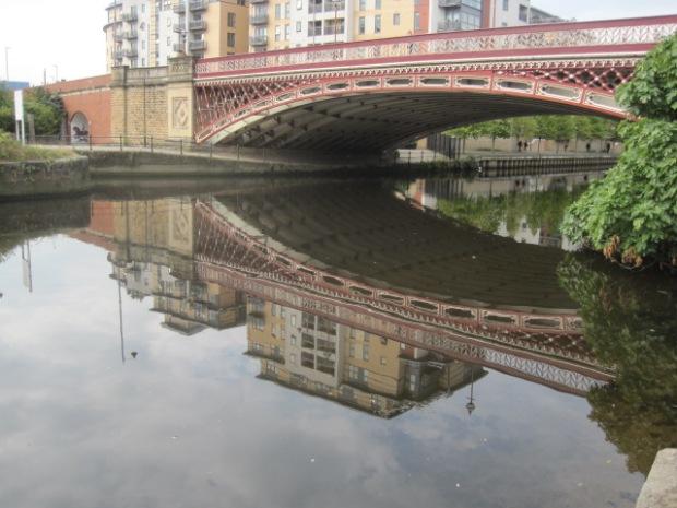 Underneath Crown Point Bridge