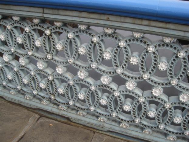 Intricate ironwork