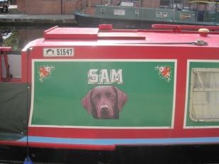 Sam's boat!