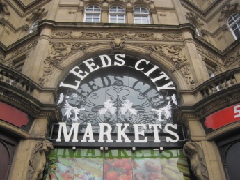 The main entrance to the markets
