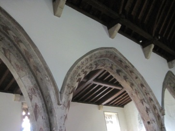 But the painted arches were unexpected