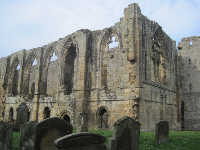 The Abbey from the church grounds