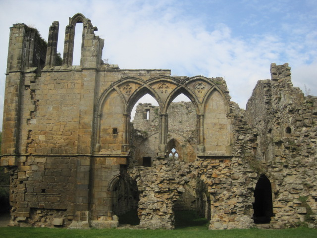 The graceful lines of the Abbey