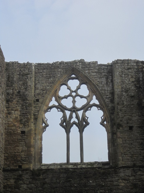 The window of the Refectory
