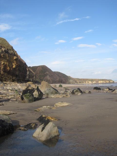And the rocks beneath