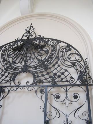 Beautiful and original wrought iron gates