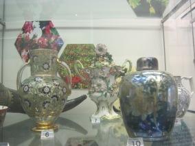 Exquisite glassware