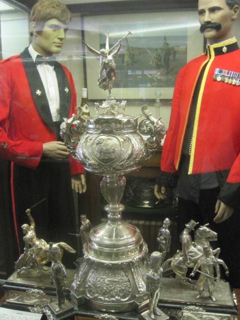 Regimental silverware