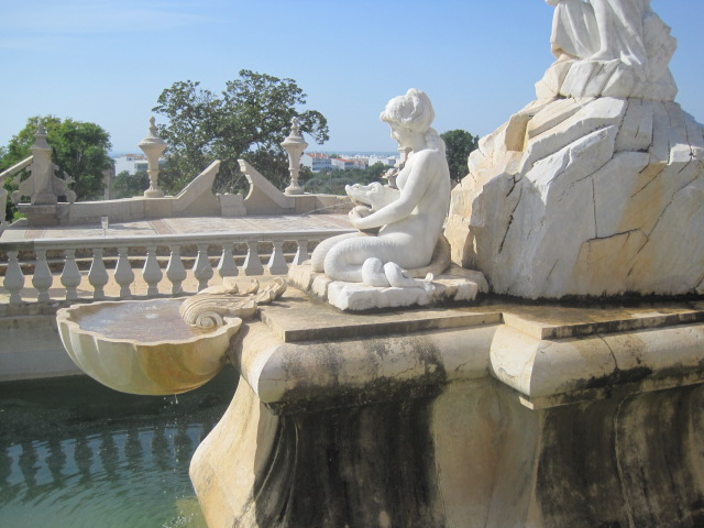 Restored to glory- the fountains at Estoi Palace