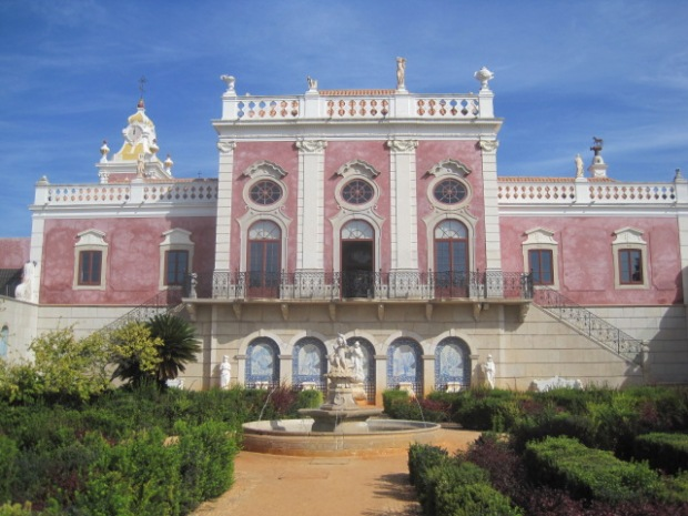 The palace and parterres