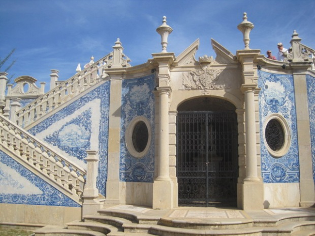The azulejos were as beautiful as I remembered