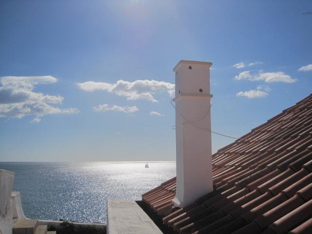Affording calm views to sea