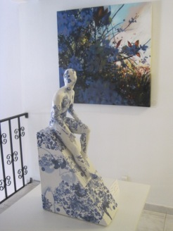 For a bit of culture, we went to Corte Real art gallery