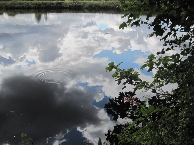 And cloud reflections