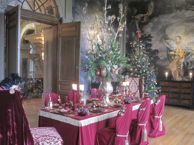 The Crimson Dining Room