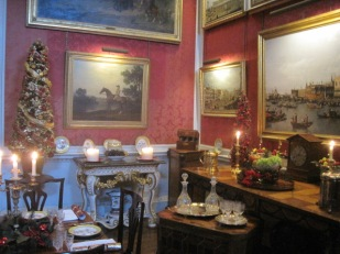 And a Crimson Dining Room