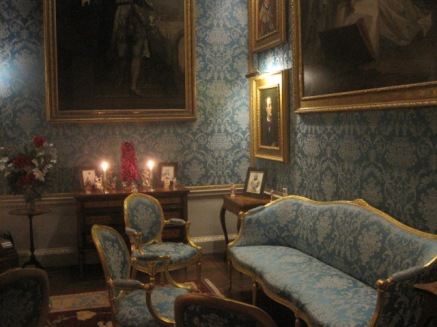 But the Turquoise Drawing Room is rather a favourite