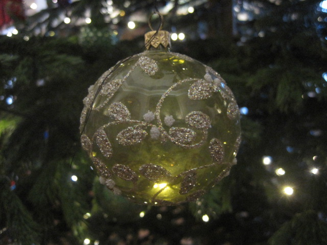 And the prettiest baubles on the tree