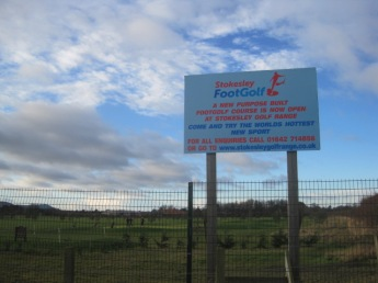 The 'Foot Golf' was a bit of a surprise! Anybody played foot golf?