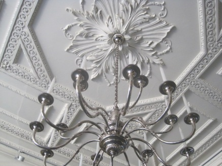 And beautiful ceilings!