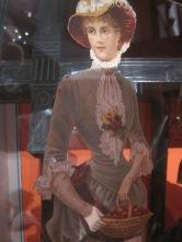 Victorian cutout doll