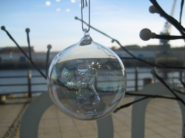 Even if it's an angel in a  bauble!