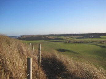 I like an empty golf course!