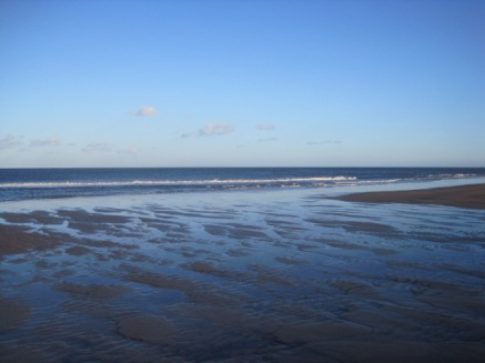 And the blueness of the sea