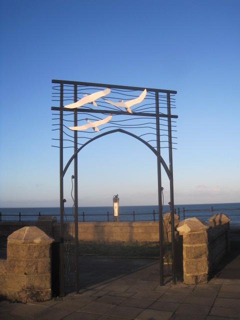 The promenade on the Headland