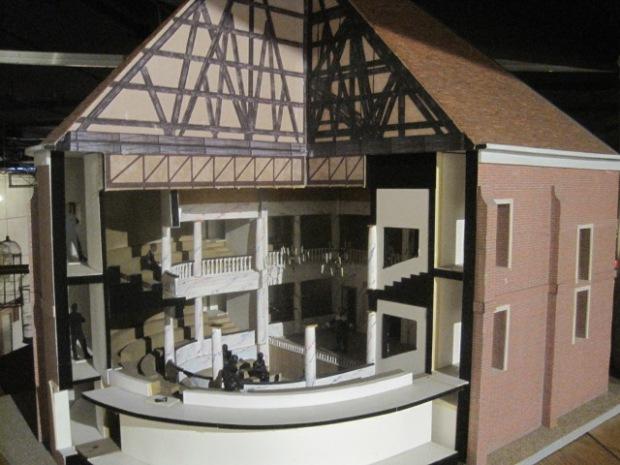 'The Globe' theatre, in miniature