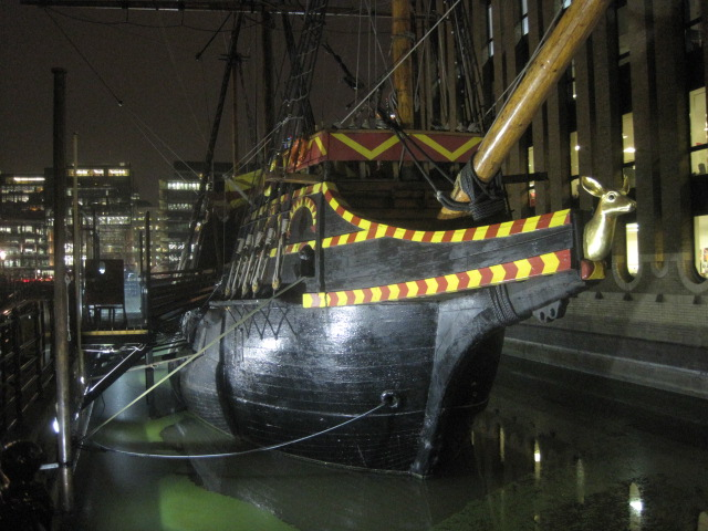 The Golden Hind on Bankside