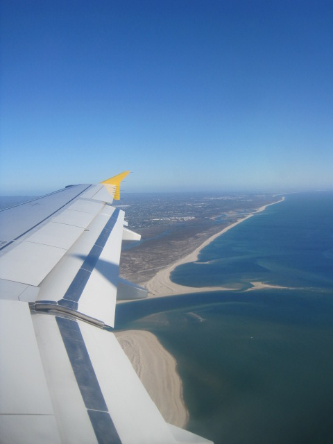 Flying into Faro