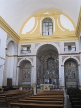 College interior and altar