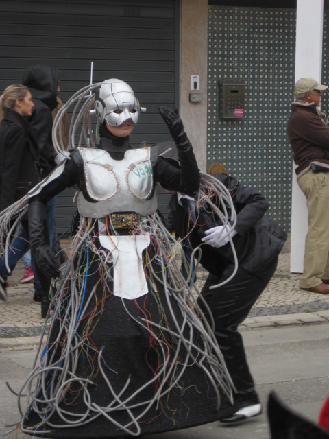 Costume malfunction?