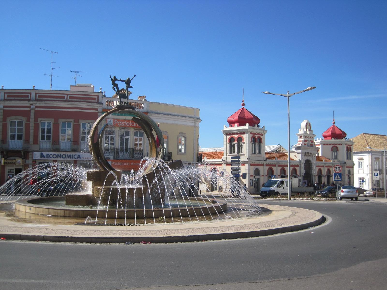 The main street and the Arabian market
