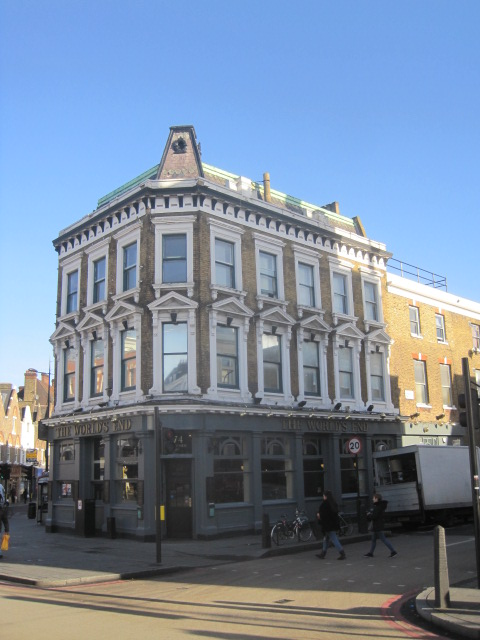 'World's End'- a famous drinking establishment
