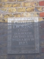 Dickens lived here!
