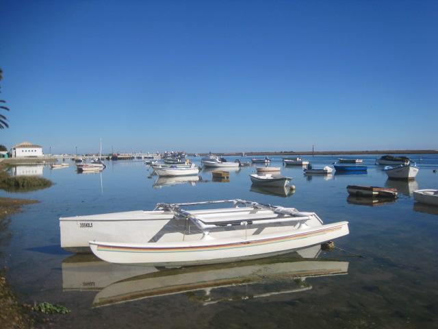 A sea of boats at Santa Luzia